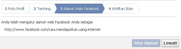 Alamat Halaman Facebook