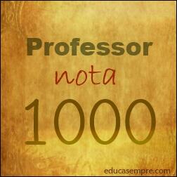Orgulho por ser professor