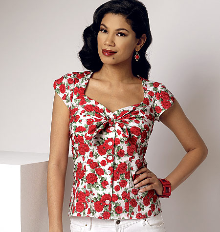 Gertie\'s New Blog for Better Sewing: New Butterick Blouse Pattern