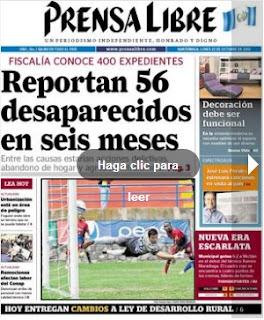diario prensa libre 22-10-12