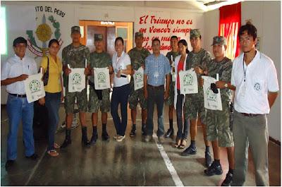 Soldados del Fuerte Minchan Desarrollaron taller de manejo de residuos