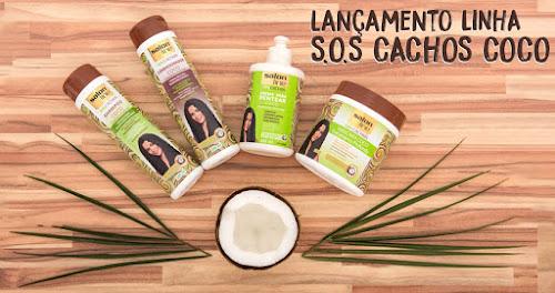 LINHA SOS CACHOS COCO - SALON LINE LANÇAMENTO