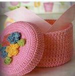 Cajas crochet