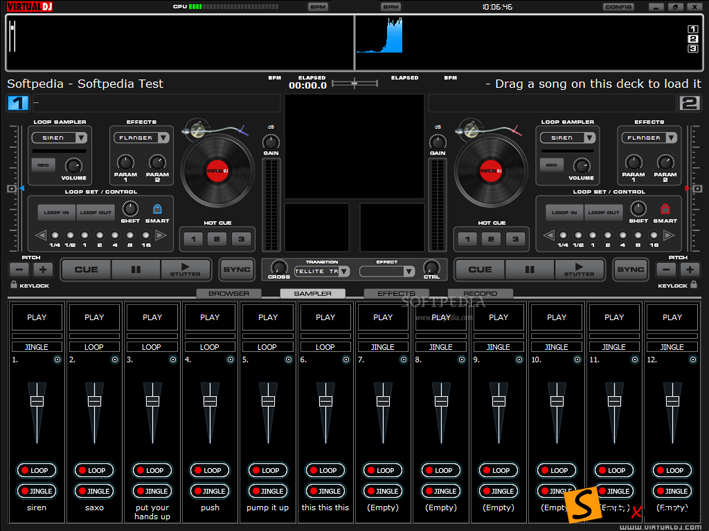 Dj Player Free Download Virtual DJ Home Edition