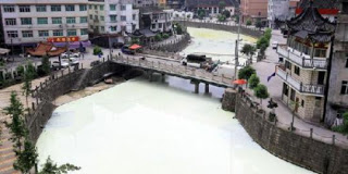 Ada Sungai Putih di China