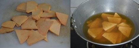cooking senai in tamarind water