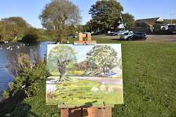 Video, painting at Hornsea Mere