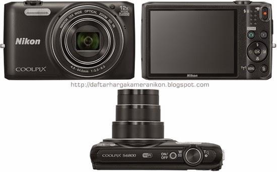 Harga dan Spesifikasi Kamera Nikon Coolpix S6800