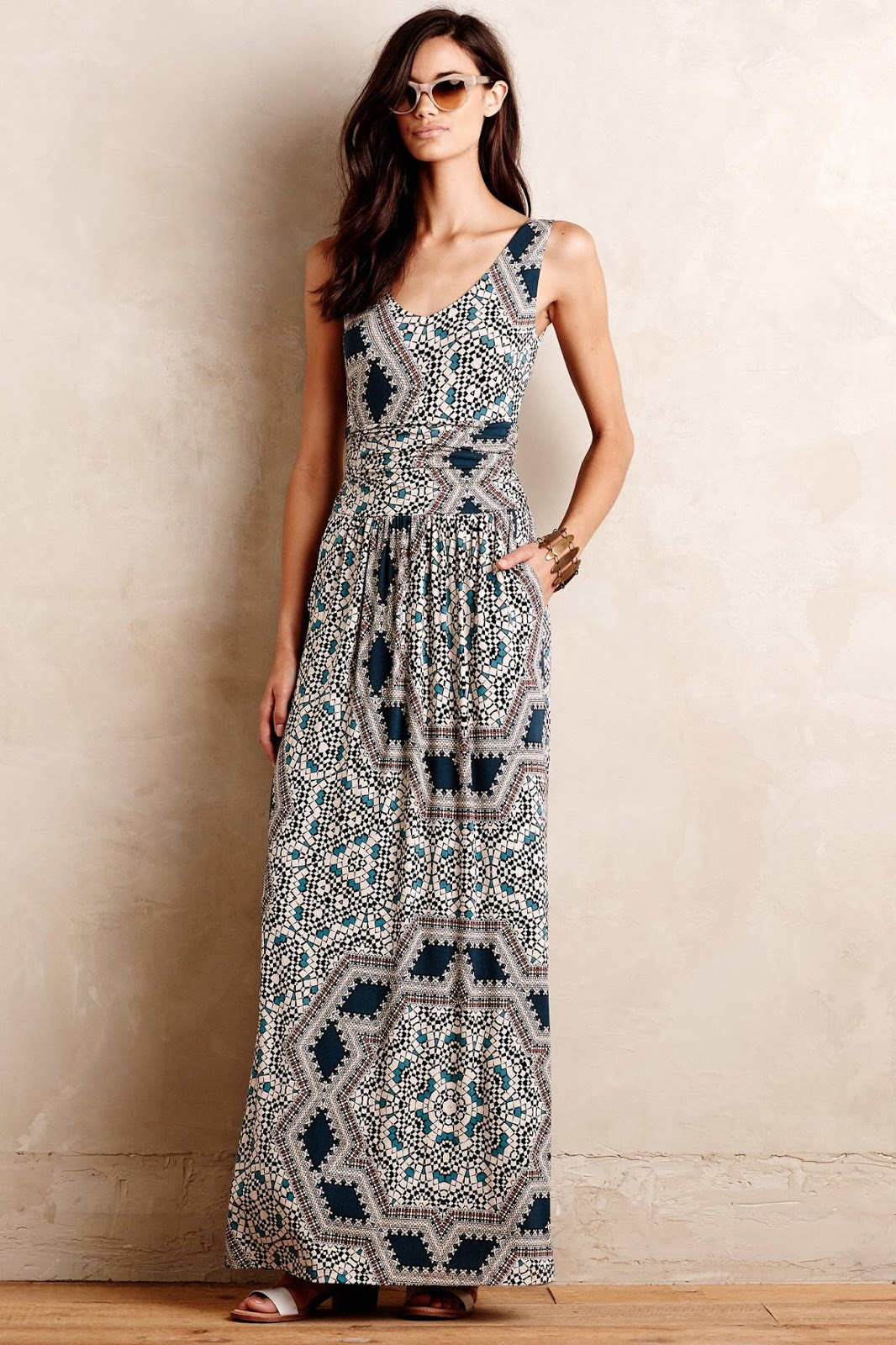 Breakfast at anthropologie best of anthropologie sale for Anthropologie mural maxi dress