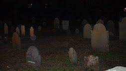 Orbs Above Salem Grave