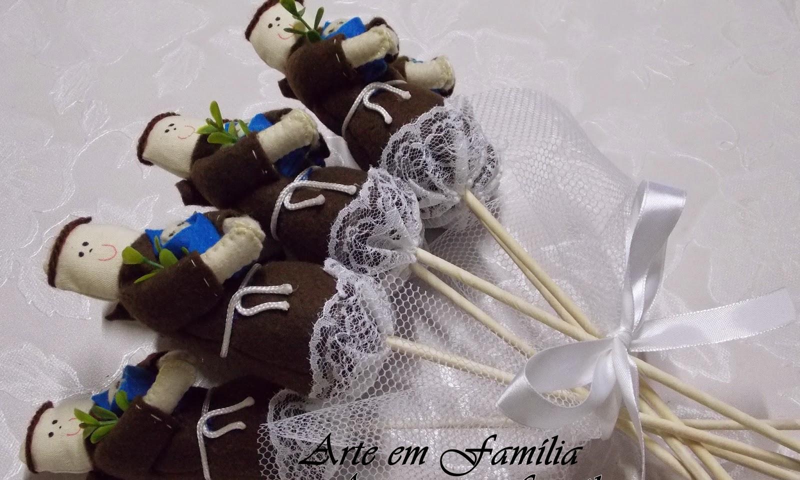 buquê de noiva artesanal de Santo Antônio