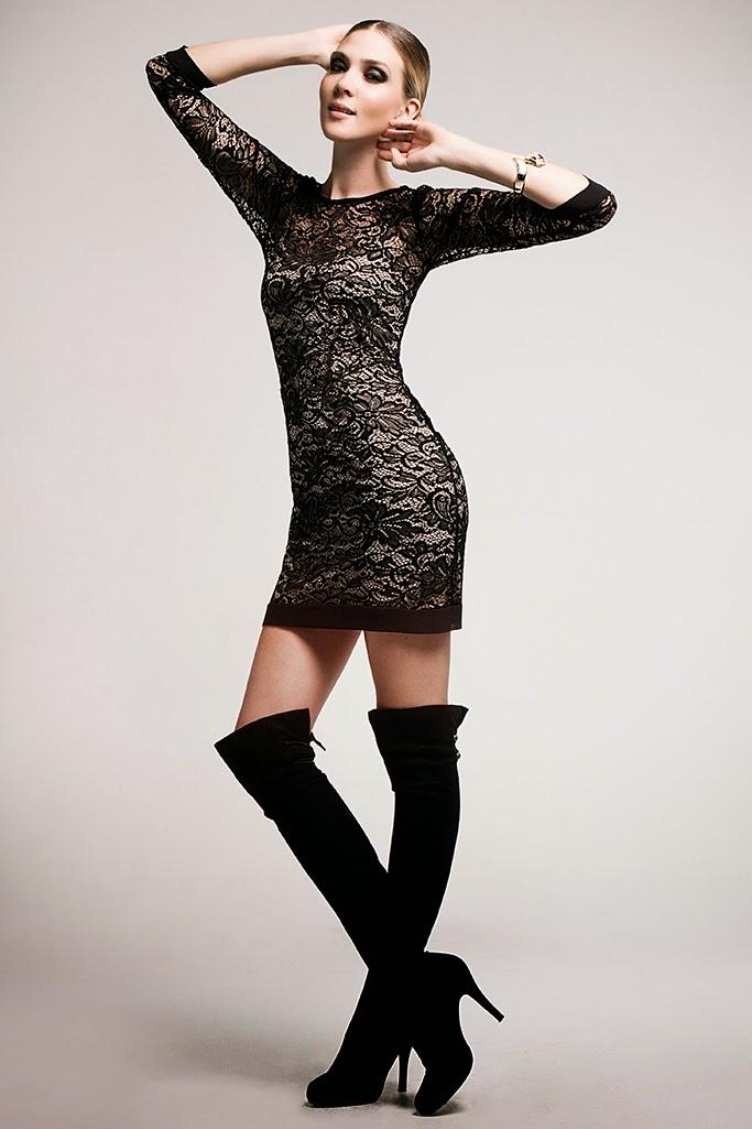Nuevos vestidos de moda para invierno vestidos de for Moda premama invierno