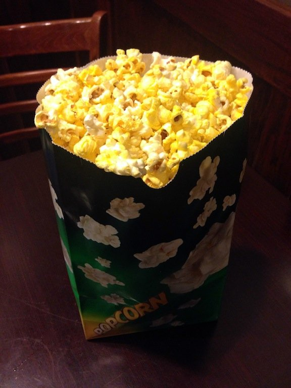 Landmark E Street Cinema Won Me Over With Its Gigantic Medium Bag Of Popcorn Only 6 50 This Beats Most Others Large Bags