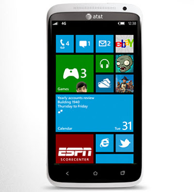 HTC Windows phone 8