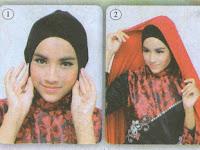 Inspirasi Hijab : Merah Etnik