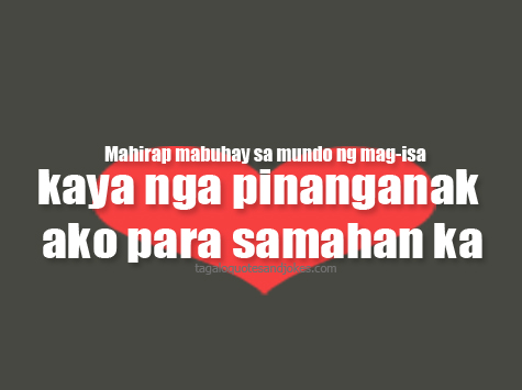 Picture Love Sayings on Tagalog Love Quotes Images 3