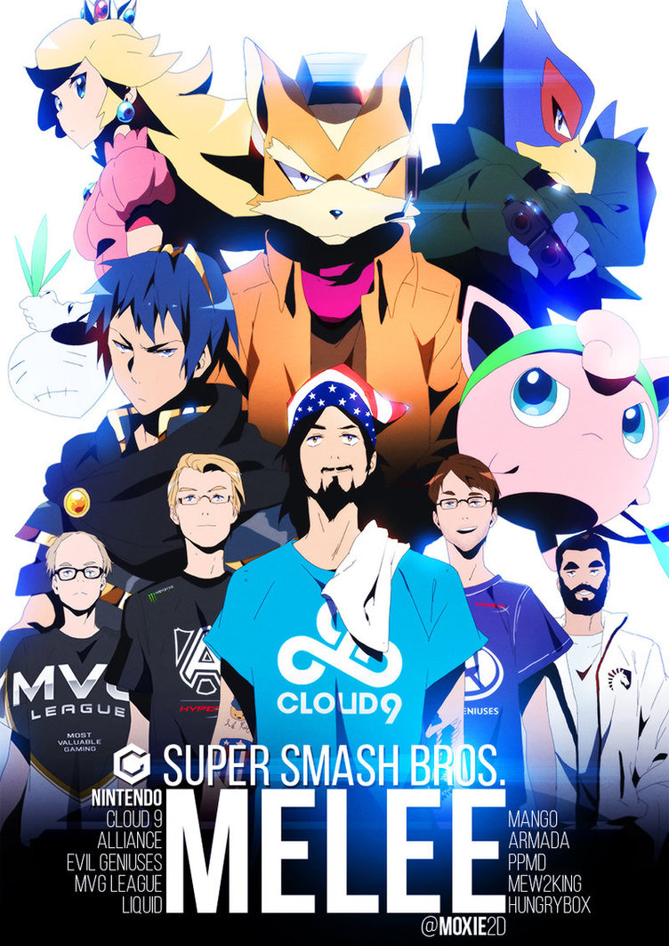 """""""The Five Gods of Melee"""""""
