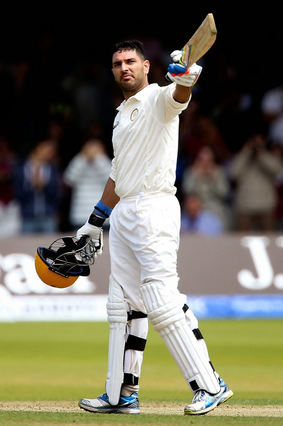 Yuvraj-Singh-Marylebone-Cricket-Club-vs-Rest-of-the-World-XI-Lords