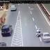 Video : Polis Trafik Dilanggar Kereta Di Jalan Semantan