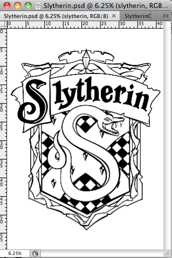Final Major Project Slytherin Crest