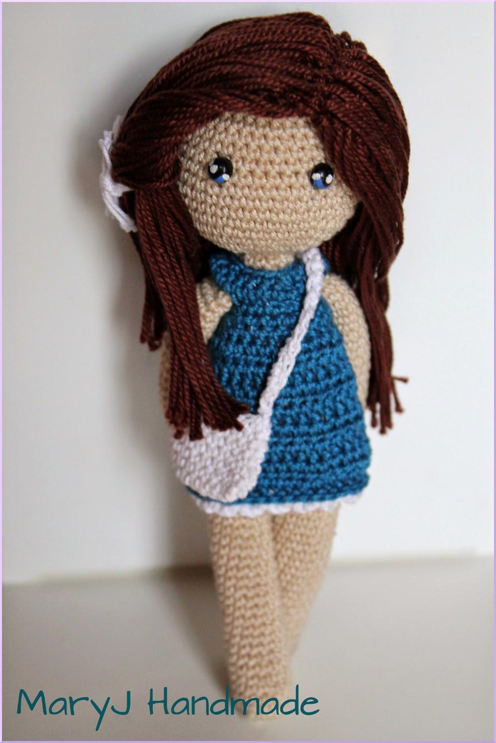 Maryj Handmade Daphne A Cute Amigurumi Doll
