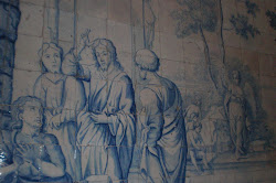 Azulejería de la Capilla del Espíritu Santo, en Olivenza