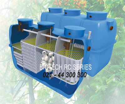 septic tank biotech rc series, stp, ipal, toilet portable fibreglass, flexible toilet