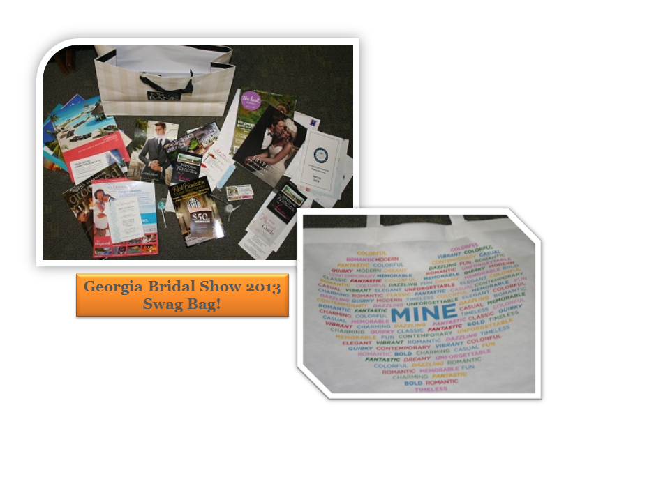 Bridal Show Gift Bag Contents