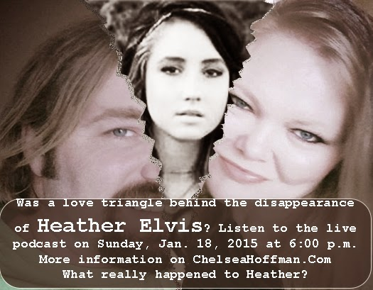 Don't miss the Heather Elvis podcast
