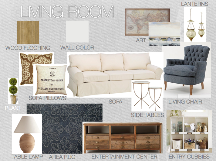 Interior Design Gray Living Room