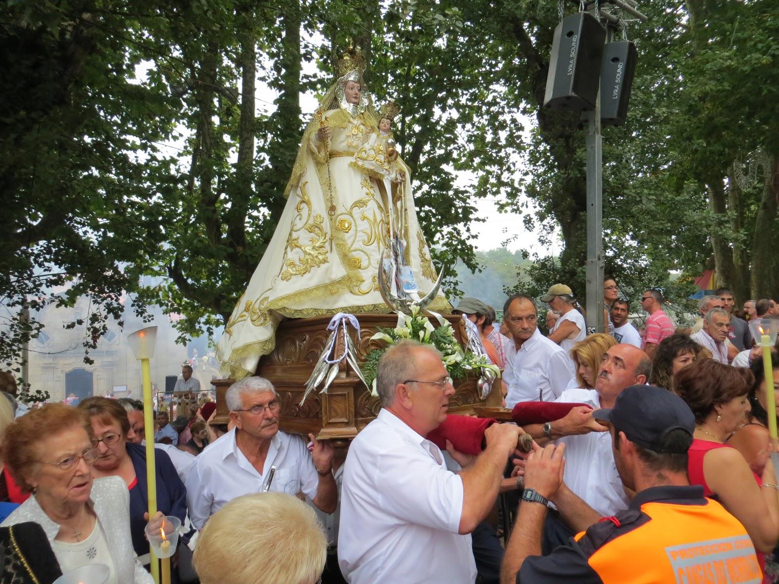 Procesión de la Virgen de Darbo, Cangas