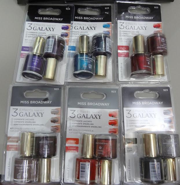 Nuovi smalti Miss Broadway collezione autunno inverno 2012 - Nail Kit Galaxy