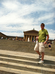 "Nate on the ""Rocky Steps"""