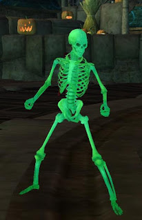 GW2 Guild Wars 2 Shadow the Mad King Halloween skeleton