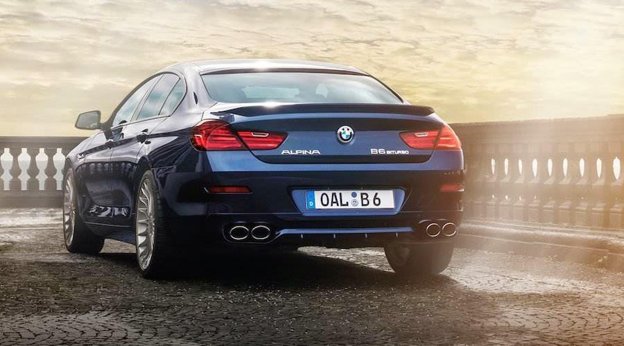 BMW アルピナB6ビターボ・グランクーペ
