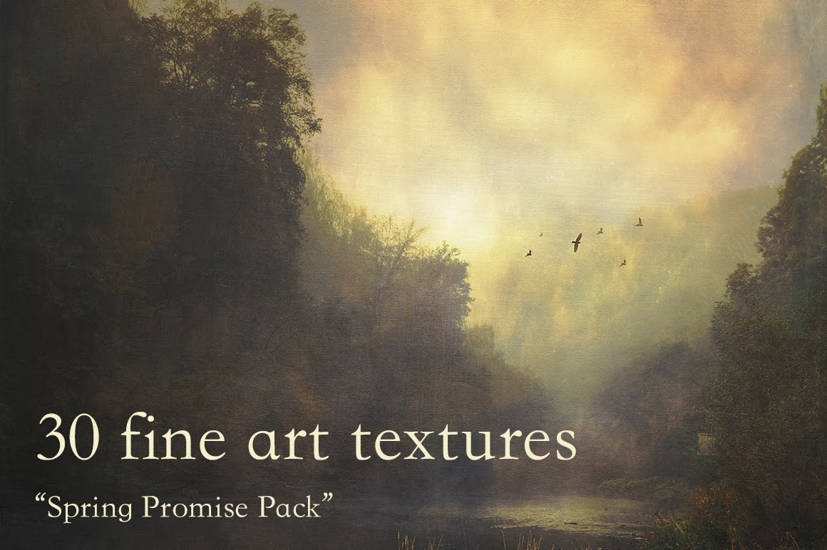 30 Fine Art Textures on CM