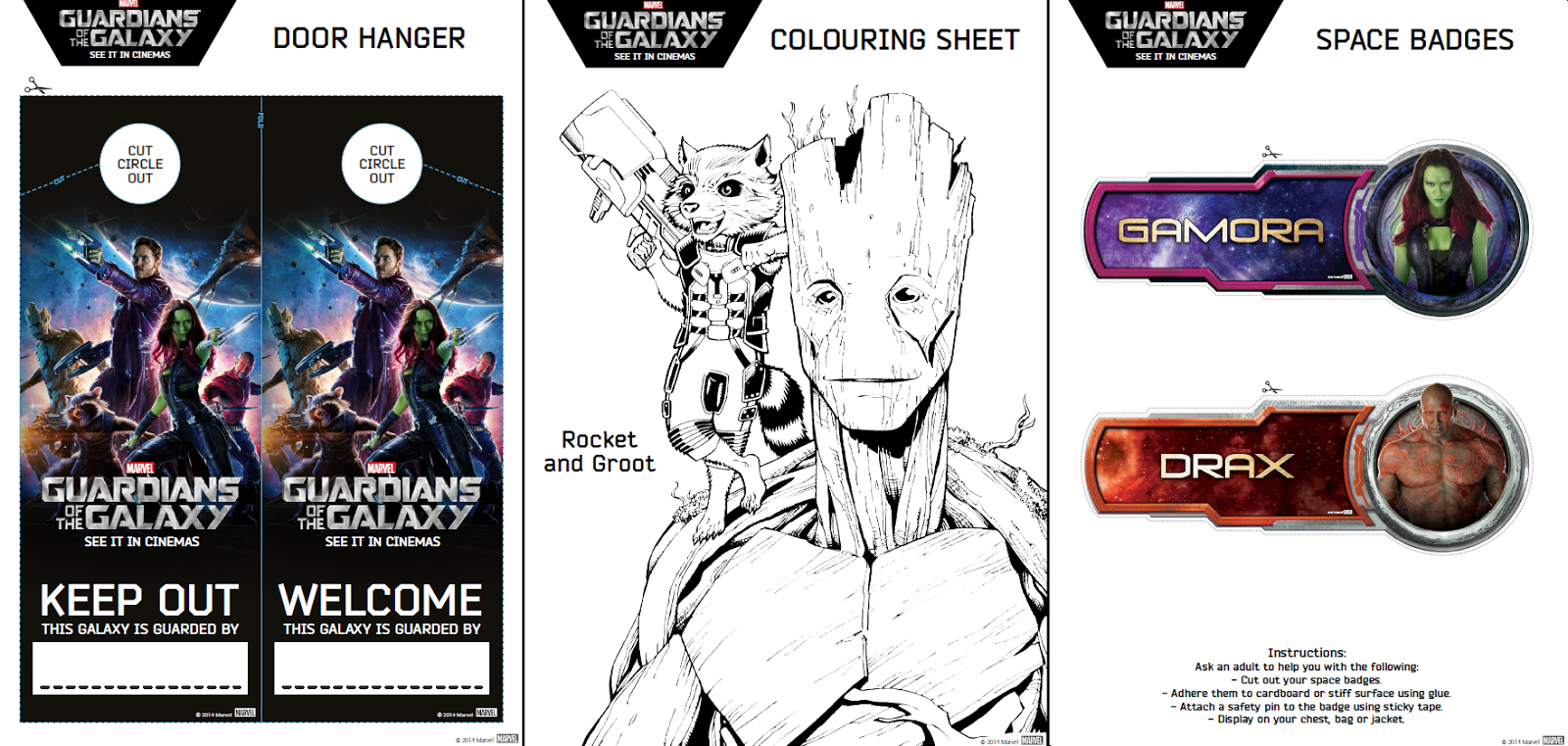 Free coloring pages guardians of the galaxy - It S Completely Free All You Have To Do Is Print It Out To Download The Activity Pack Right Click Here Select Save Link As