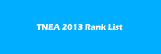 ENGINEERING ADMISSION 2013,RANK LIST 2013,ANNAUNIV.EDU RANK LIST 2013
