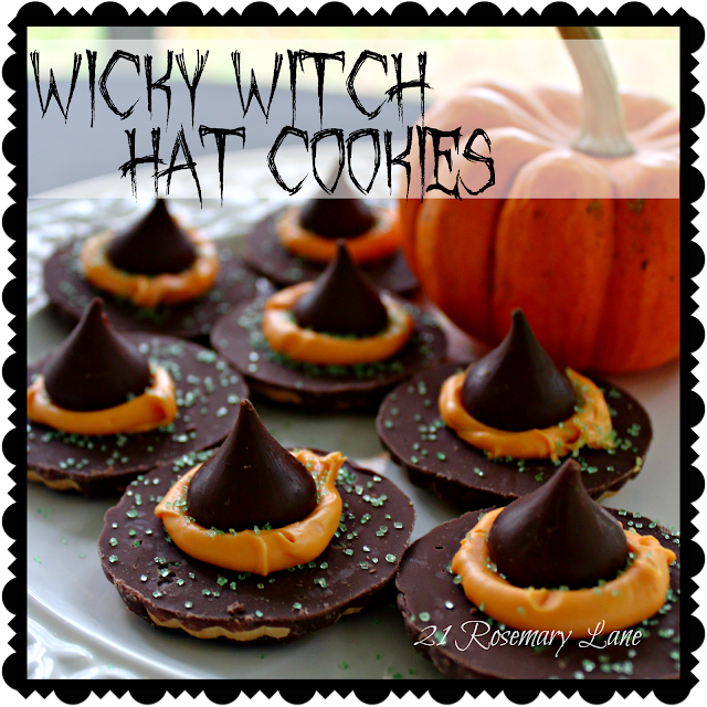 21 rosemary lane three fun food ideas for a witch 39 s bash for Halloween food ideas for preschoolers