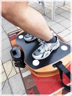 Skandika- Home Vibration Plate 300 - Übung Hocke