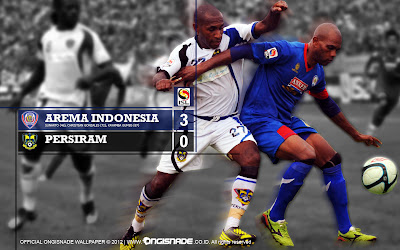 Wallpaper Gams Arema Malang Indonesia ISL Edisi 11 Februari 2013