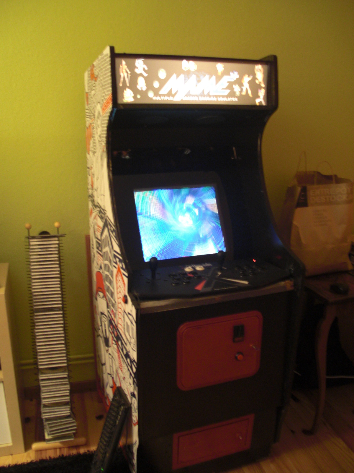 Vendue borne d 39 arcade maison - Borne d arcade maison ...