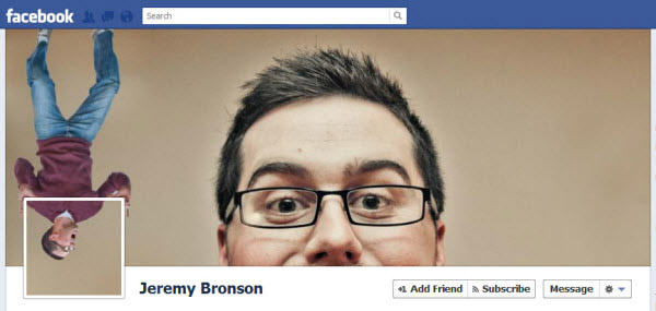jeremy bronson facebookfever Amazing Creative Facebook Timeline Covers