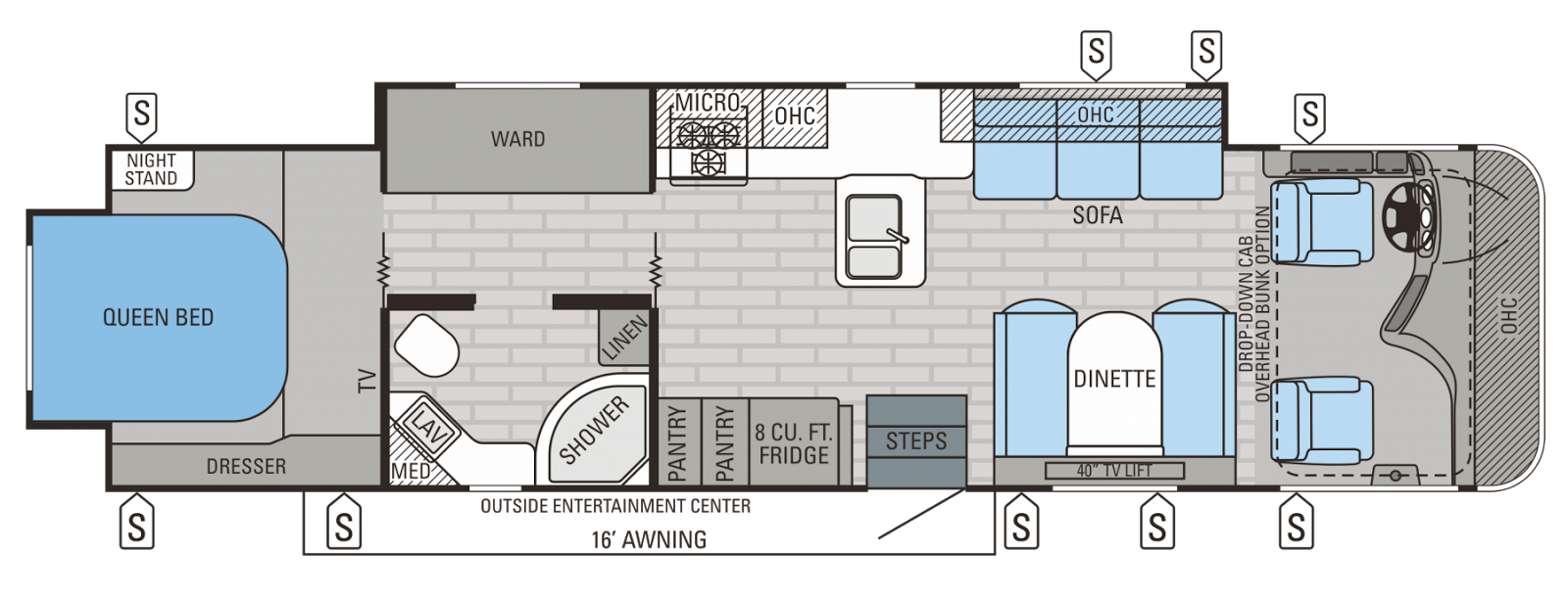 Nw Rventure The Jayco Precept Has New Floor Plans