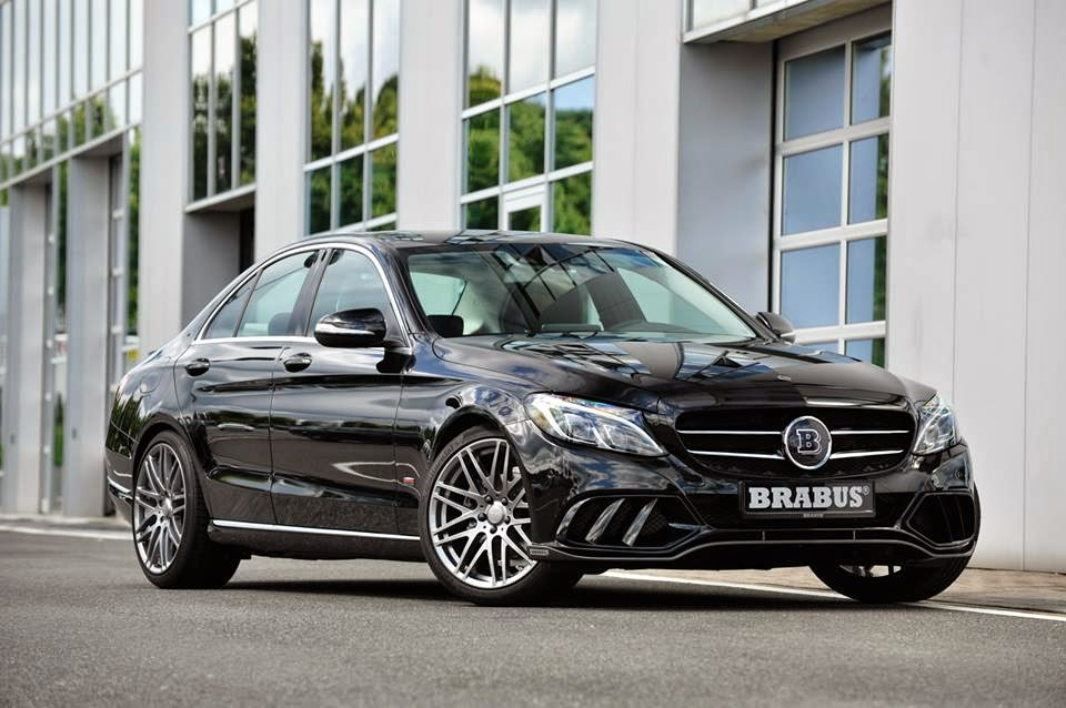 motoring malaysia brabus tuning for the w205 mercedes. Black Bedroom Furniture Sets. Home Design Ideas