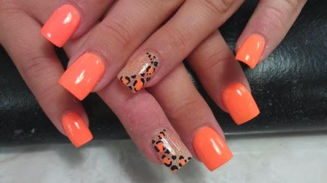 Acrylic-Nails-Nail-Art-Xmas-Salon-Gel-Nails-Polish-LED-Polish-LED-Nails-Artificial-Nails-Pink-Nails-orange-meringue-french-nails-gel-manicure-pedicure-acrylic-backfill-xmas-design