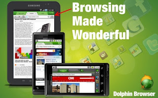 Description: Dolphin Browser for Android
