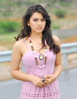 Hansika Motwani in a cute Sleeveless Pink frock spicy Pictures