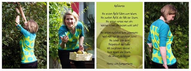 lillestoff Kinderstoff Lemondots aus GOTS Biostoff