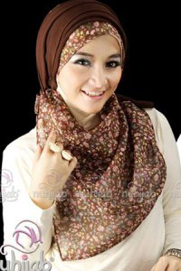 Nuhijab TS3 - Mocca Brown (Toko Jilbab dan Busana Muslimah Terbaru)